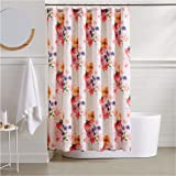 AmazonBasics Blossom Bathroom Shower Curtain - 72 Inch