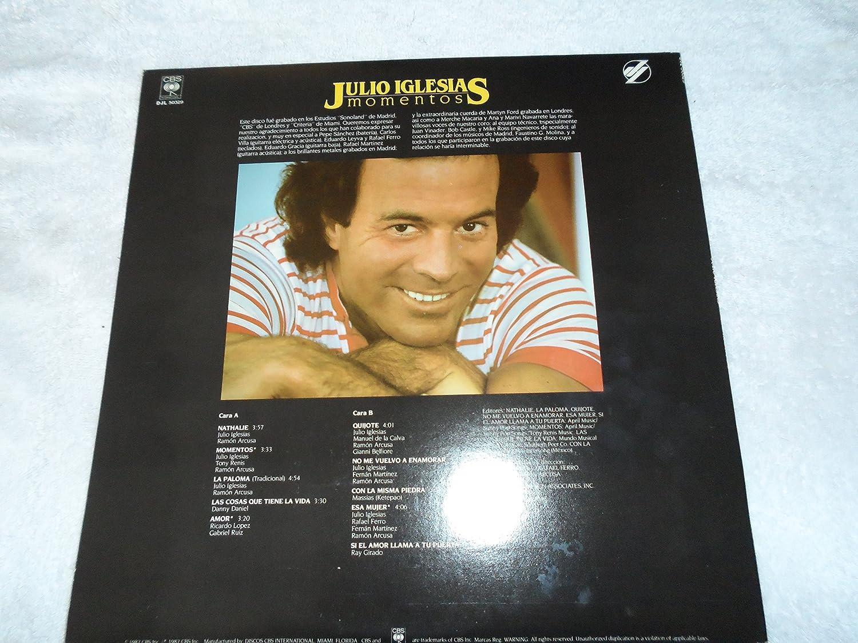 - Julio Iglesias, Moments, Lp, Nm - Amazon.com Music