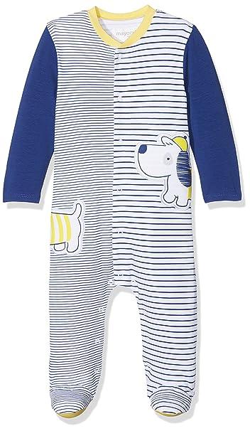 Mayoral 1730, Conjuntos de Pijama para Bebés, Azul (Océano 77), Recién