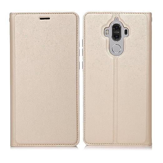 15 opinioni per ELTD Huawei Mate 9 Flip Cover, Super Slim Perfect Fit Premium Hard Protettiva