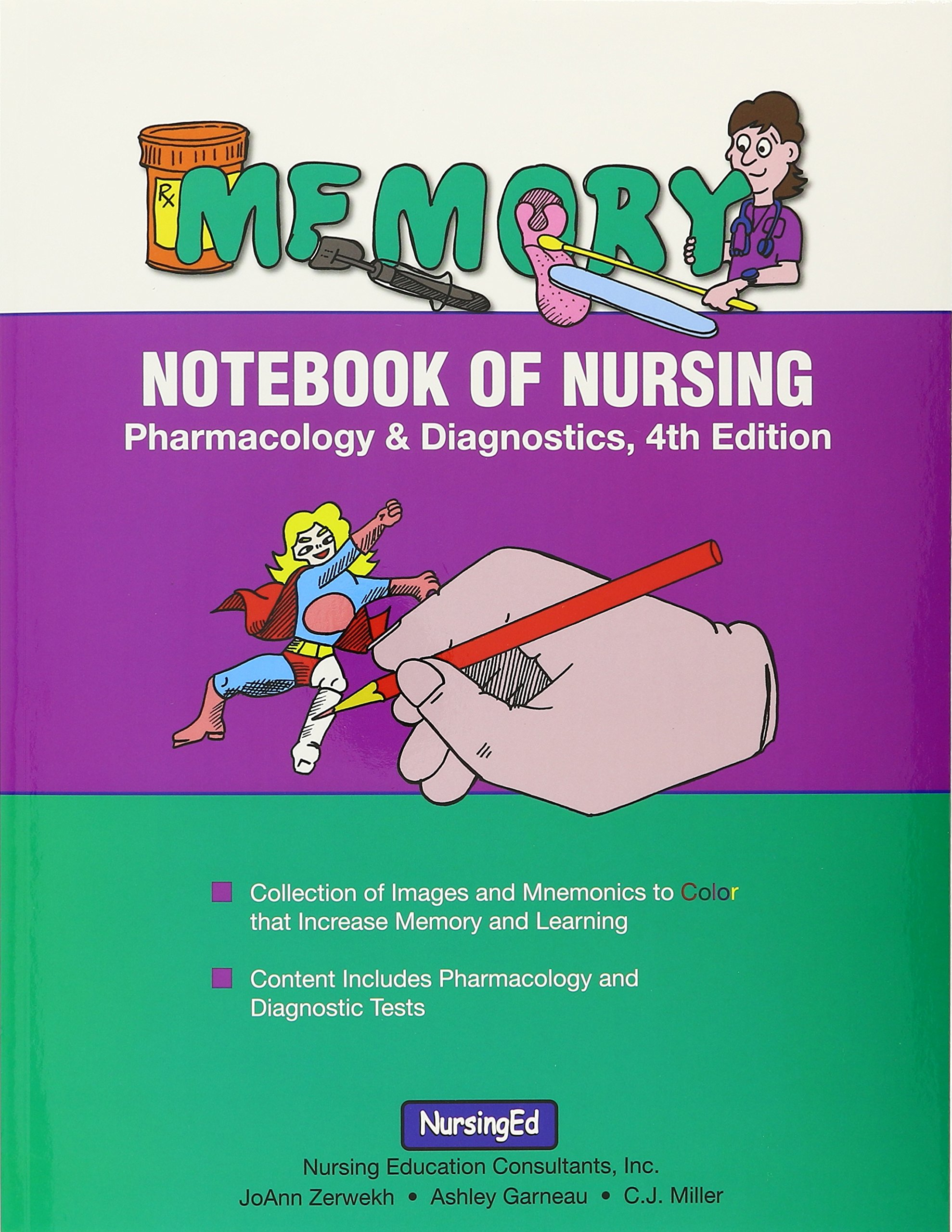 Memory Notebook of Nursing: Pharmacology and Diagnostics