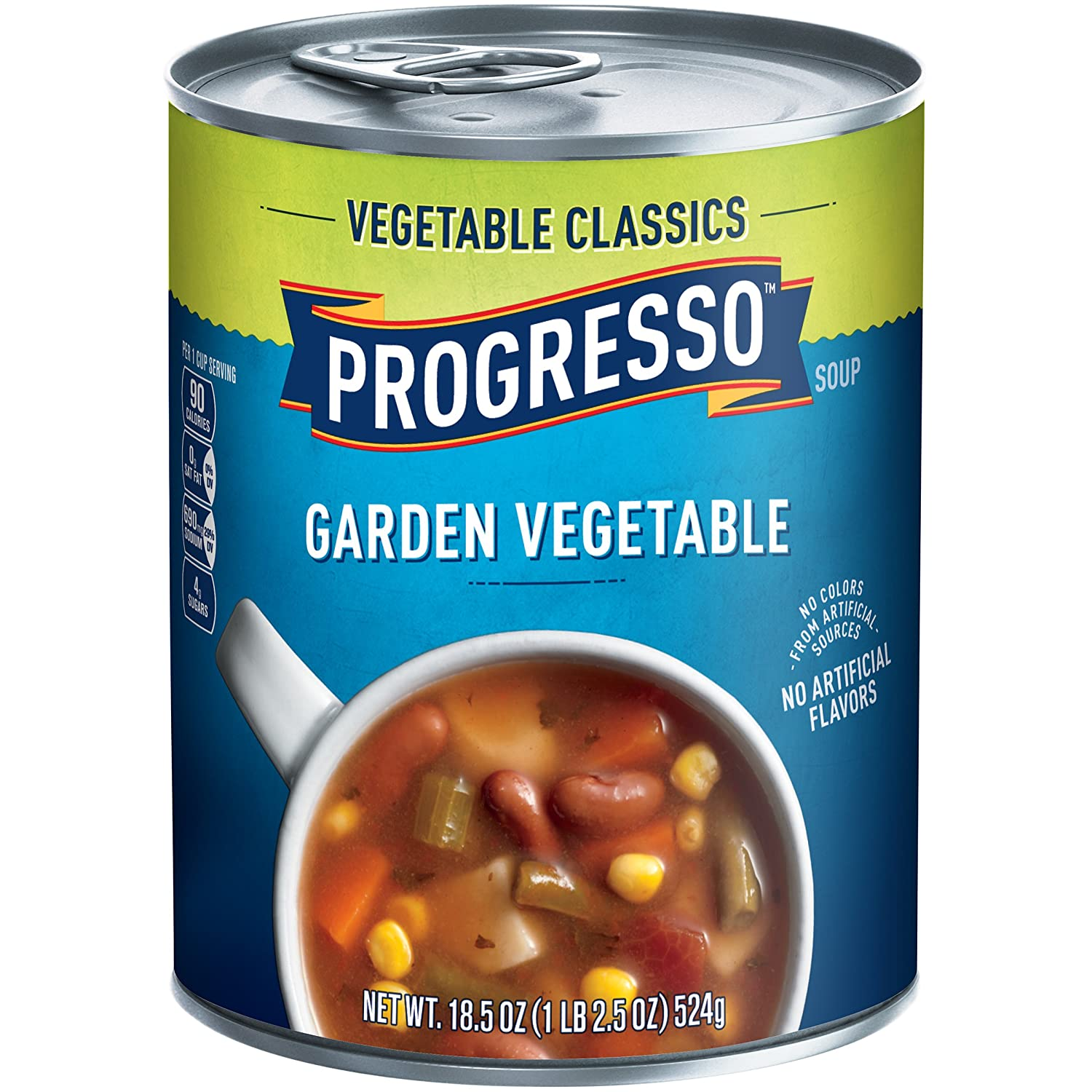 Progresso Vegetable Classics Soup, Garden Vegetable, 18.5-Ounce Cans (Pack of 6)