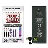foto                       TSI® Batteria di Ricambio per iPhone 4S, Capacità 1430mAh apn 616-0581/616-0582, + Tool Kit Smontaggio, Biadesivo e Istruzioni