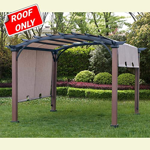 Sunjoy 110109021 Original Replacement Canopy for A R Woodgrain Pergola 10X10 Ft L-PG152PST-B Sold at Lowe s, Sesame