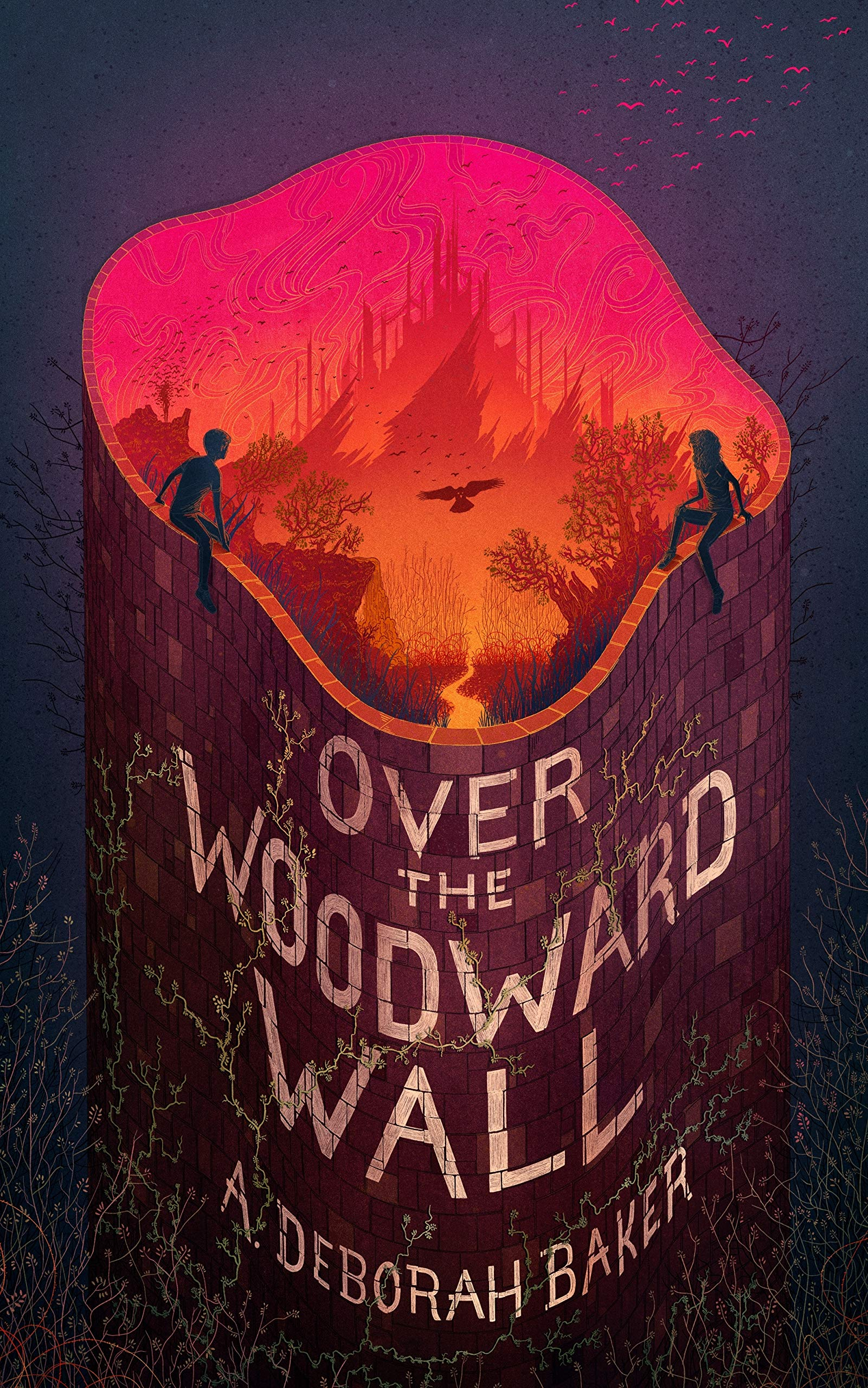Over the Woodward Wall (The Up-and-Under, 1): Baker, A. Deborah:  9780765399274: Amazon.com: Books