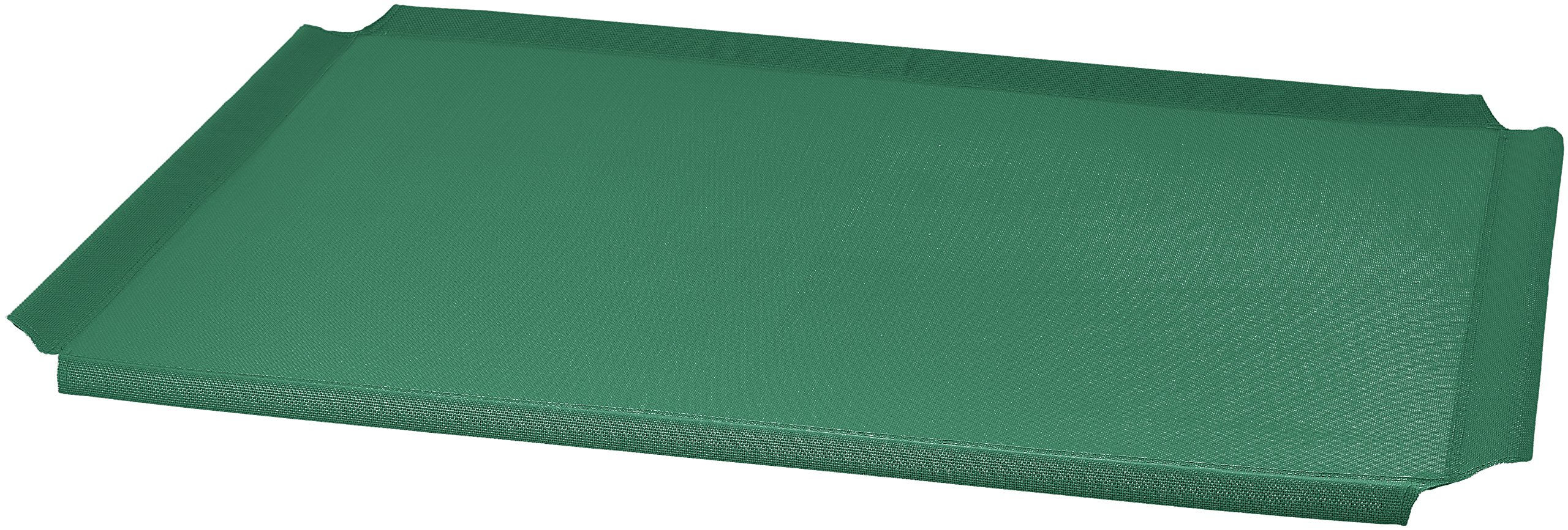 AmazonBasics Elevated Cooling Pet Bed Replacement Cover, L, Green