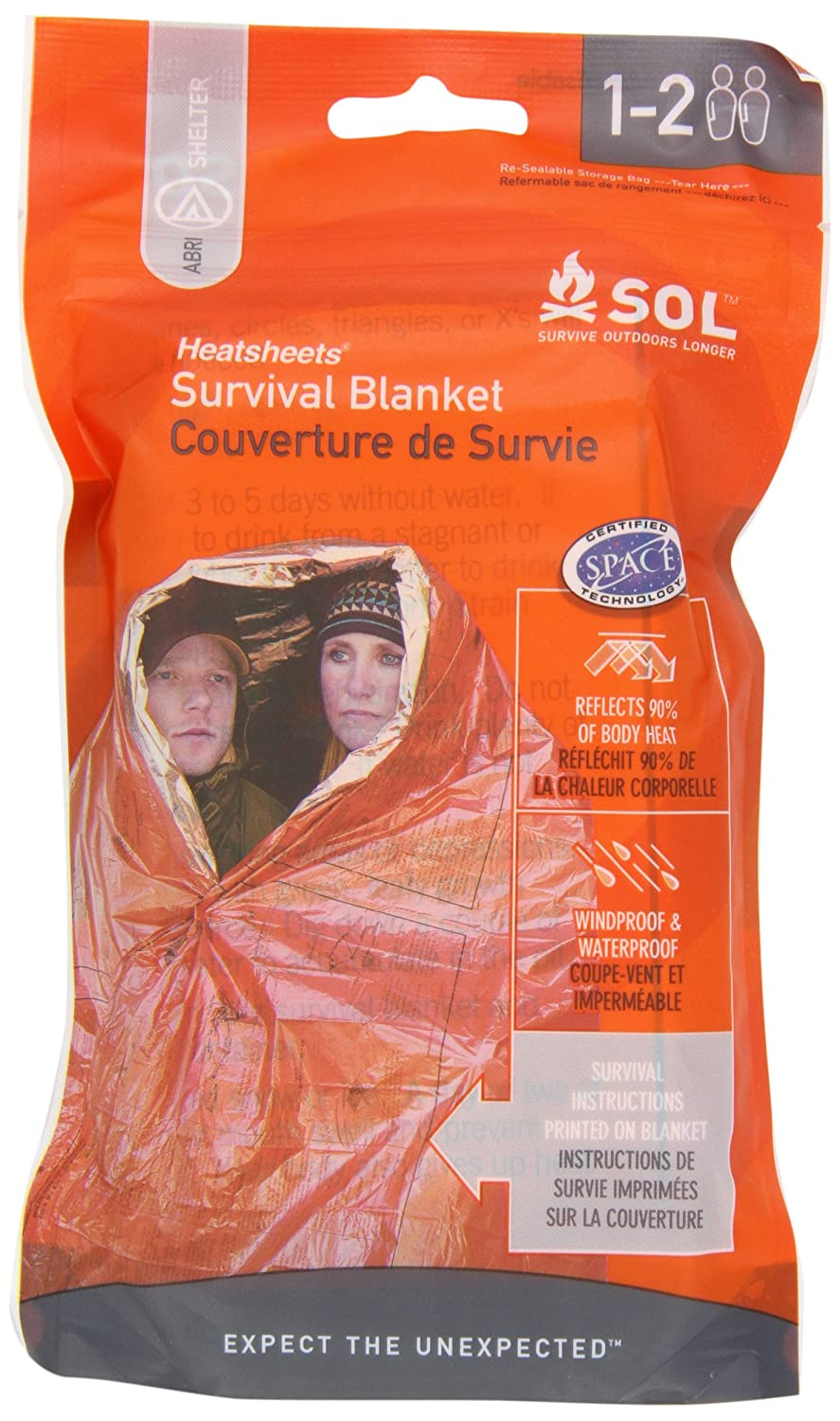 Adventure Medical Kits SOL Survival Blanket