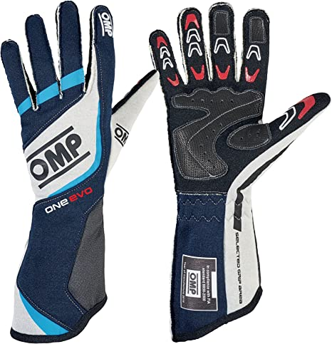 Amazon.com: Omp One Evo Racing guantes, tamaño ...