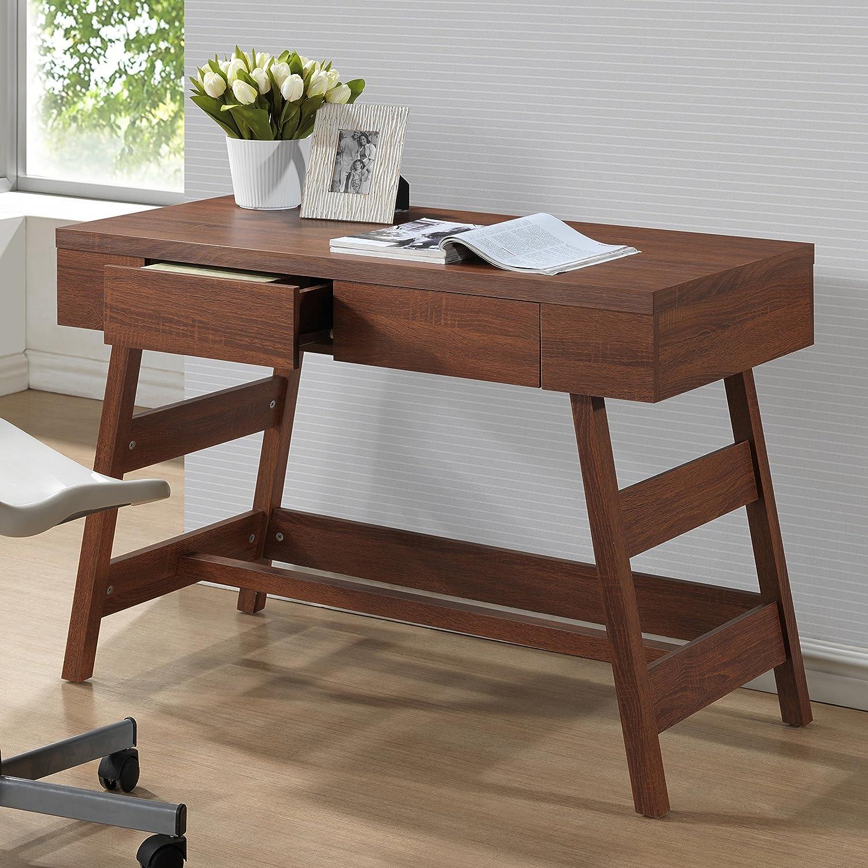 mid writing furniture modern office shop barn desk new century retro
