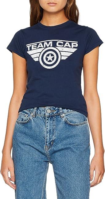 Marvel Comics Captain America Civil War Team Cap T Shirt