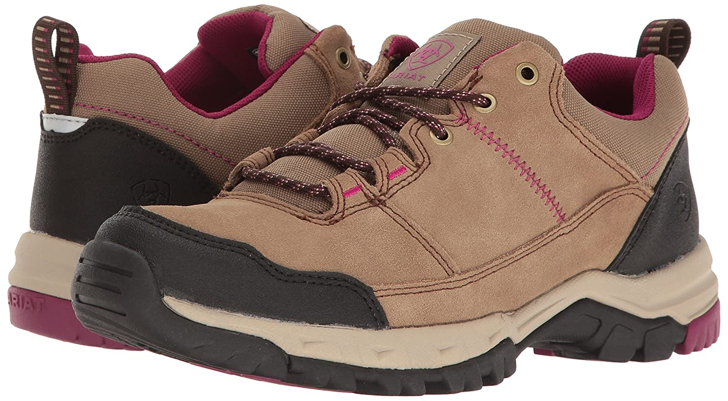 010bbb1cc0d ARIAT Womens Skyline Lo Lace Hiking Shoe