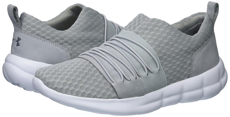 Under Armour Women's Slouchy Slip Sneaker B072LNKC3M 5.5 M US Overcast Gray (104)/White