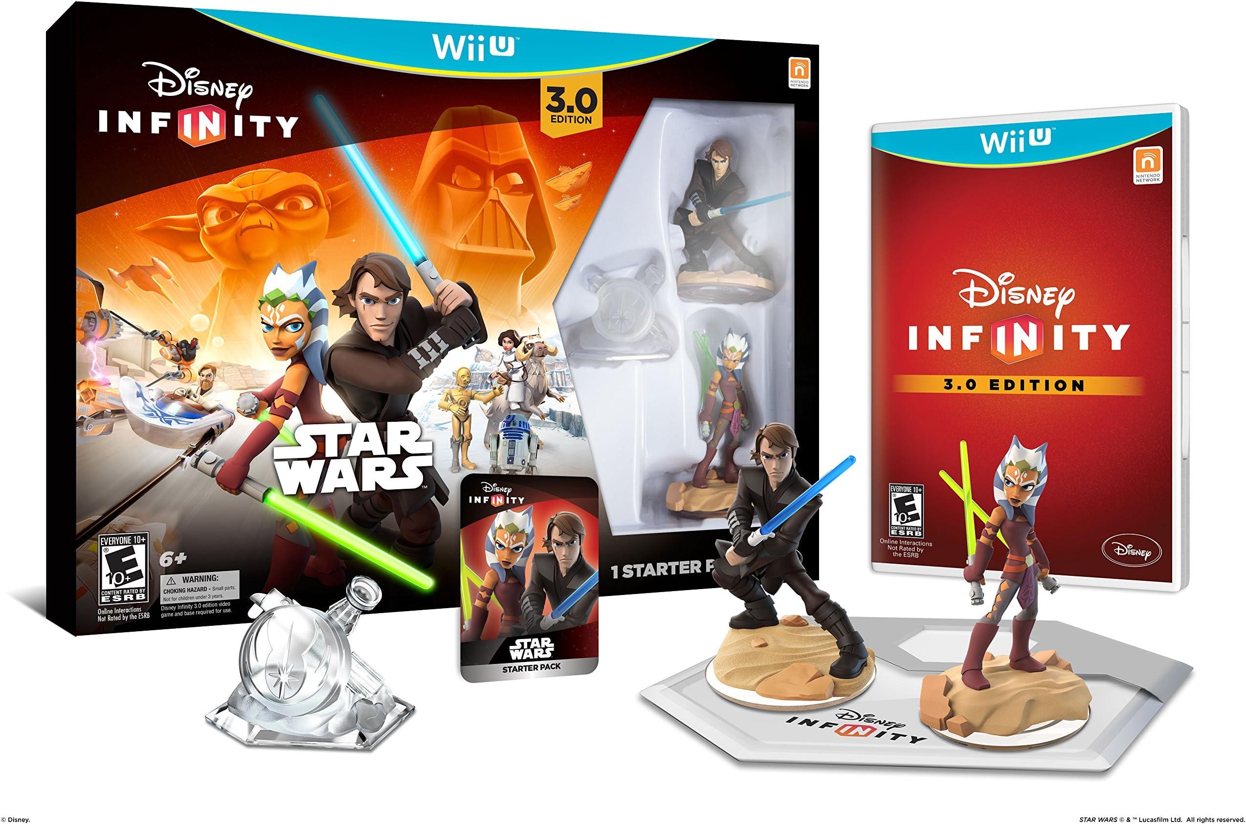 12e4e49fc622b Amazon.com: Disney Infinity 3.0 Edition Starter Pack - Wii U ...