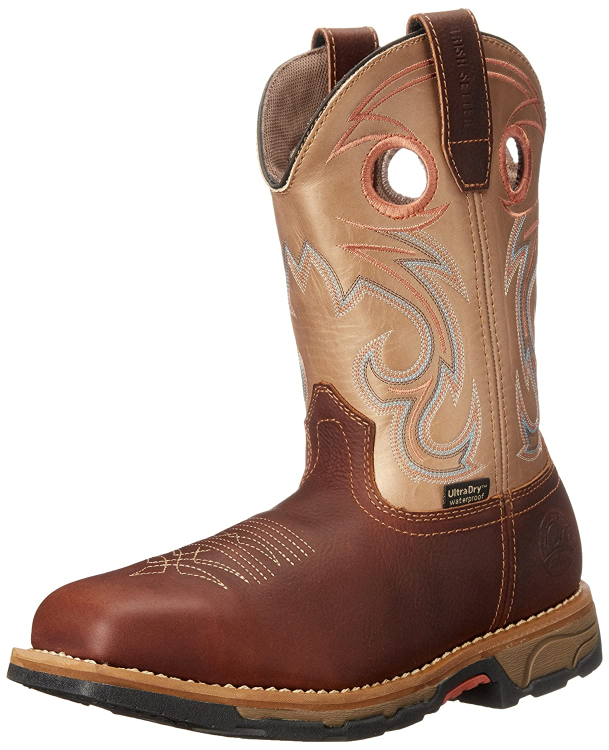 Irish Setter レディース Brown/Teal Accent 7.5 womens_us 7.5 womens_usBrown/Teal Accent B012F9BKHA
