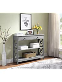 Entryway Systems Furniture Closets Entryway Convenience Concepts Oxford Console Table Amazoncom Entryway Furniture Amazoncom