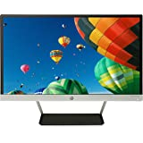HP 22cw 21.5 inch LED Monitor (1920 x 1080 Pixel Full HD (FHD) IPS 7 ms HDMI VGA) - Black and Silver