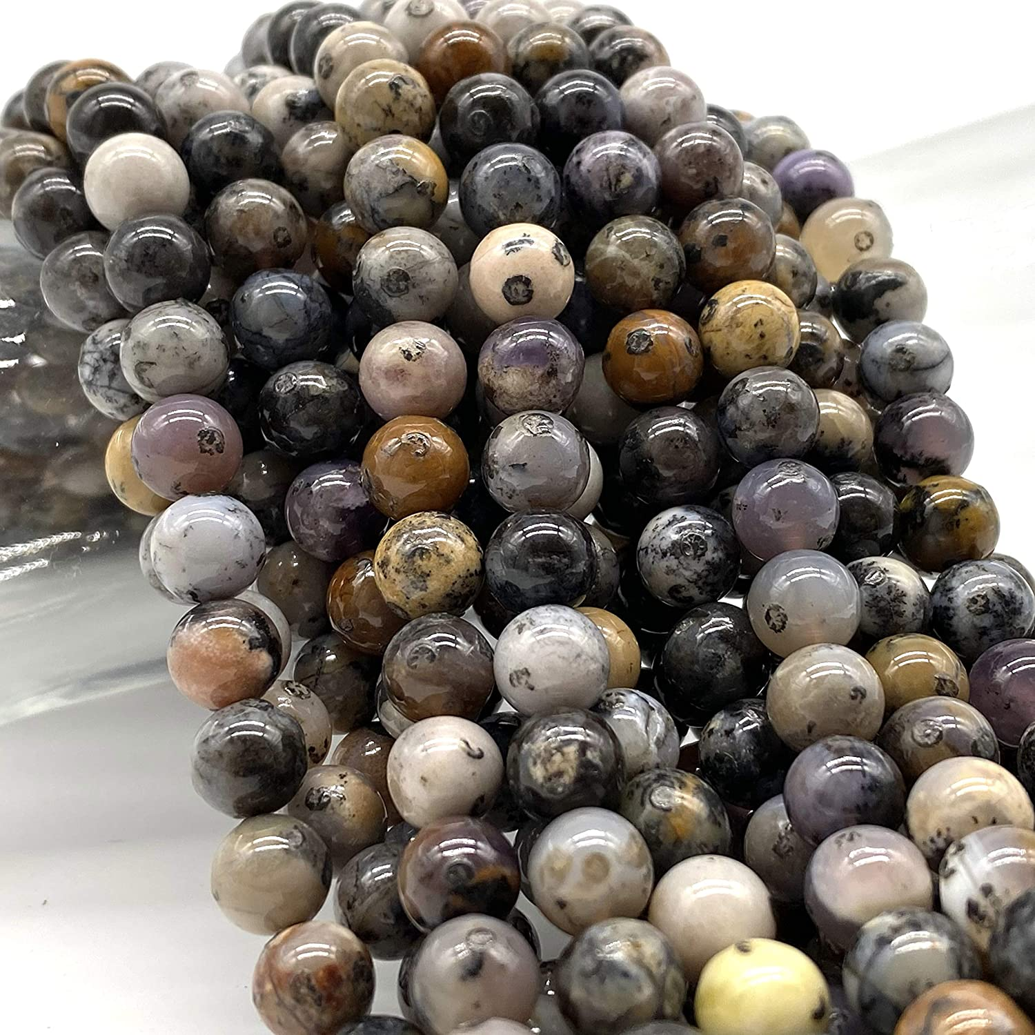 Amazing Natural Bio Tourmaline Hand Carved Fancy  Gemstone Beads Size 11X12mm  5 Carat AAAA Genuine and natural Stone.