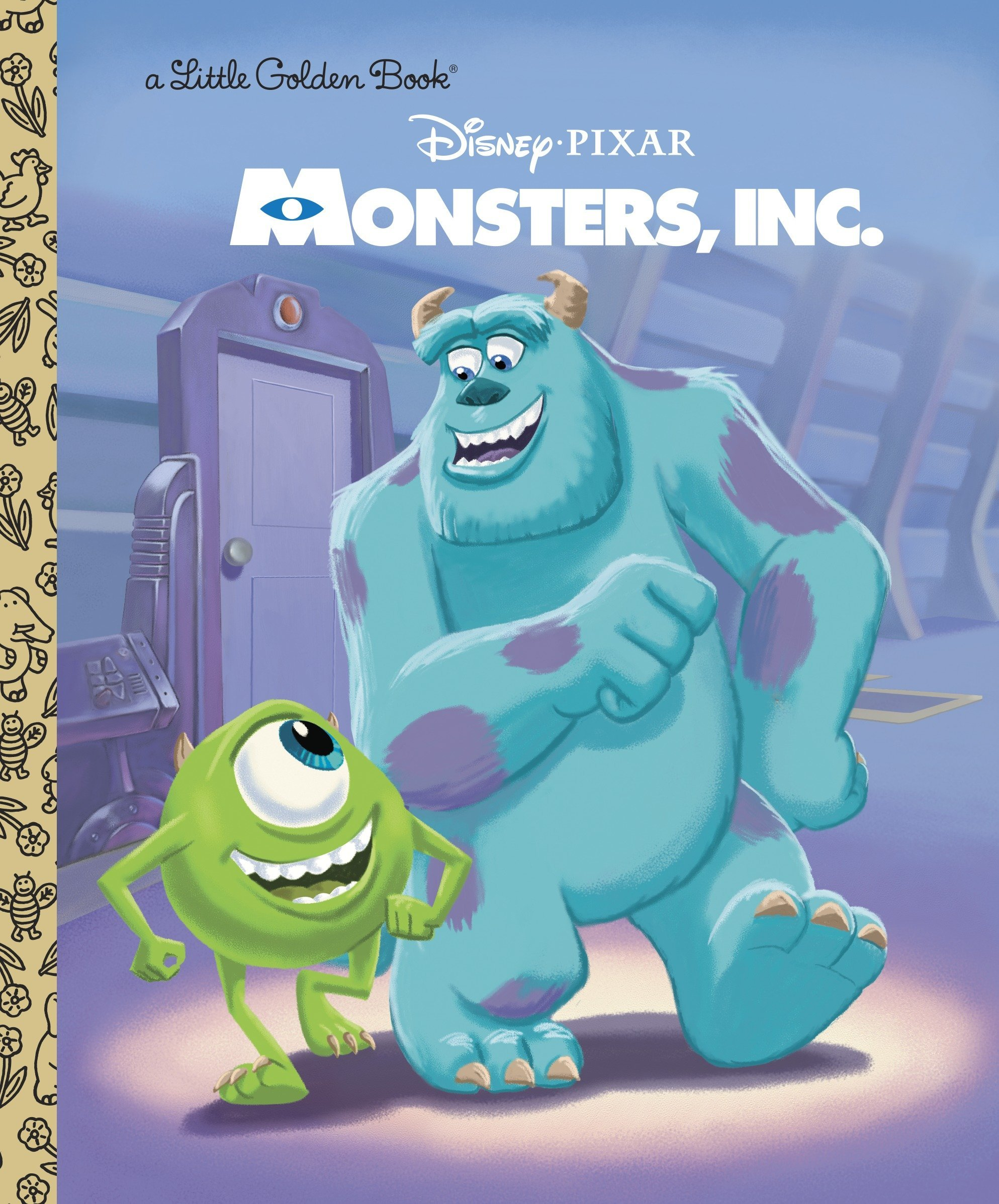 Monsters Inc Little Golden Book Disney Pixar Monsters Inc Rh Disney Rh Disney 9780736427999 Amazon Com Books