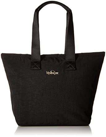 2a5bd116fd Amazon.com: Kipling Niamh Black Patent Combo Insulated Lunch Bag ...