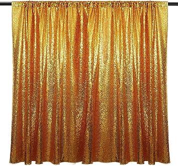 Stoff Vorhang Gold Pailletten 195cm X140cm Goldener Glitzer Hintergrund Vorhänge Dekoration Gold Als Fotohintergrund Party Fotowand Fotobox Hochzeiten Deko Fotoleinwand Goldene Pailetten Spielzeug