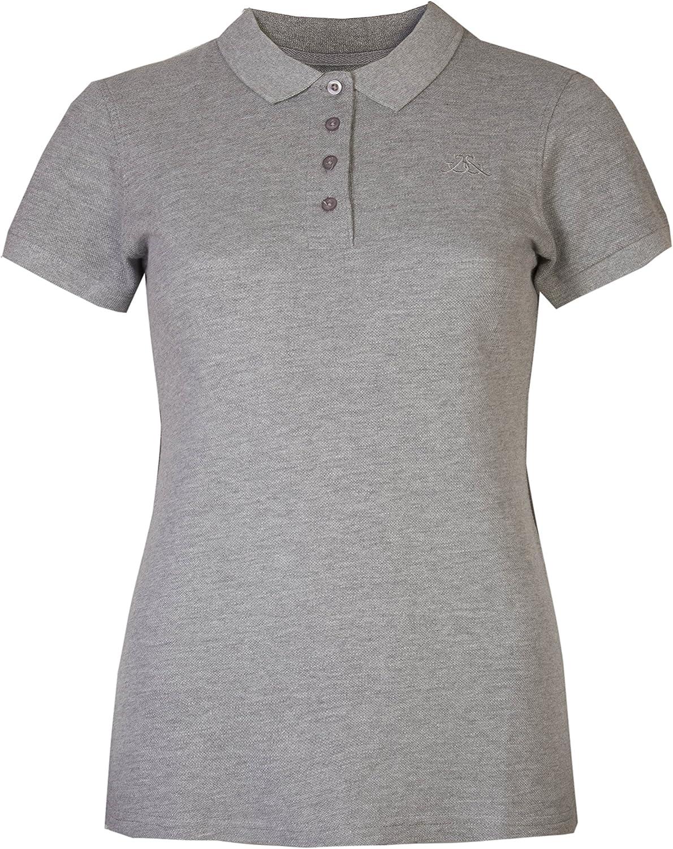 Mujer Polo camisas mangas cortas piqué camisetas Brody y Co® Sportswear Golf tenis gimnasio: Amazon.es: Ropa y accesorios