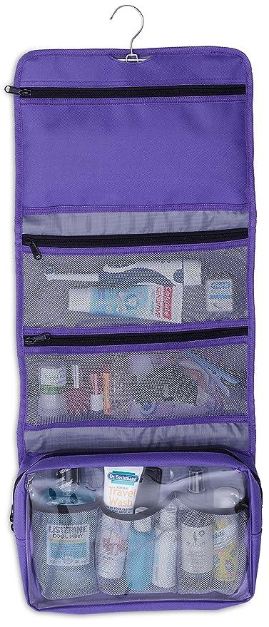 e27f86c23535 Amazon.com  Lilliput Hanging Toiletry Bag Hanging Makeup Organizer for  Cosmetics