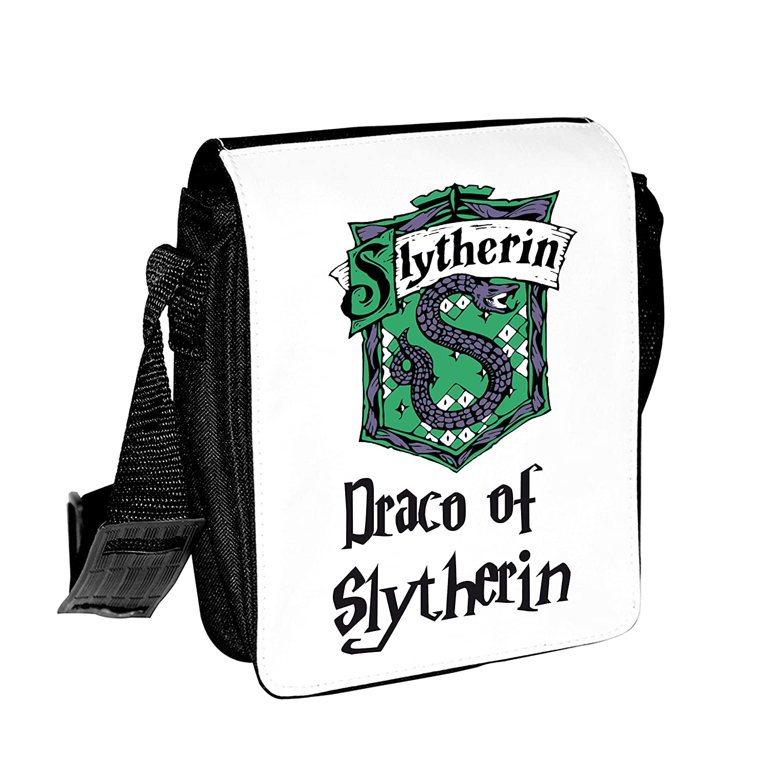 Shires Art Printing Harry Potter Slytherin Small Personalised Shoulder Bag