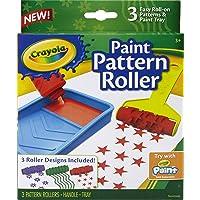 Crayola 3 Paint Pattern Roller - kids' paint rollers (Multicolor, Niño/niña, Caja)