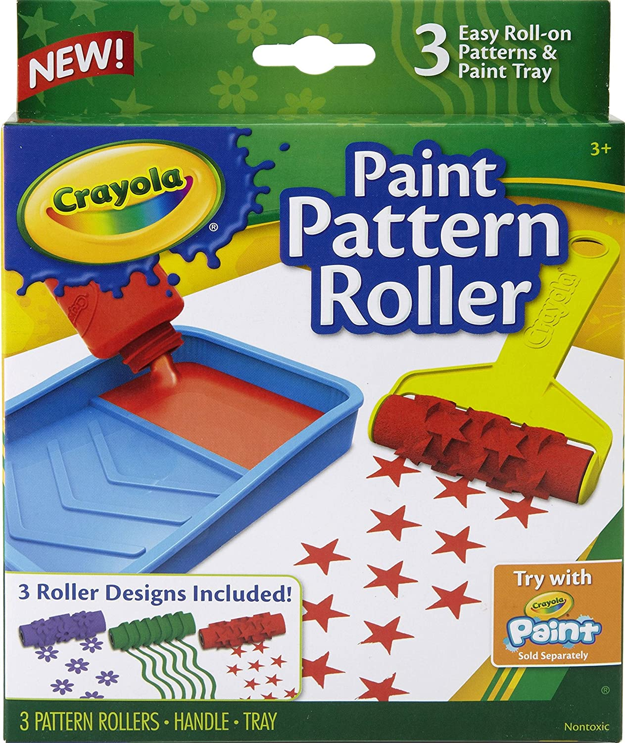 Pattern Paint Roller Amazing Inspiration