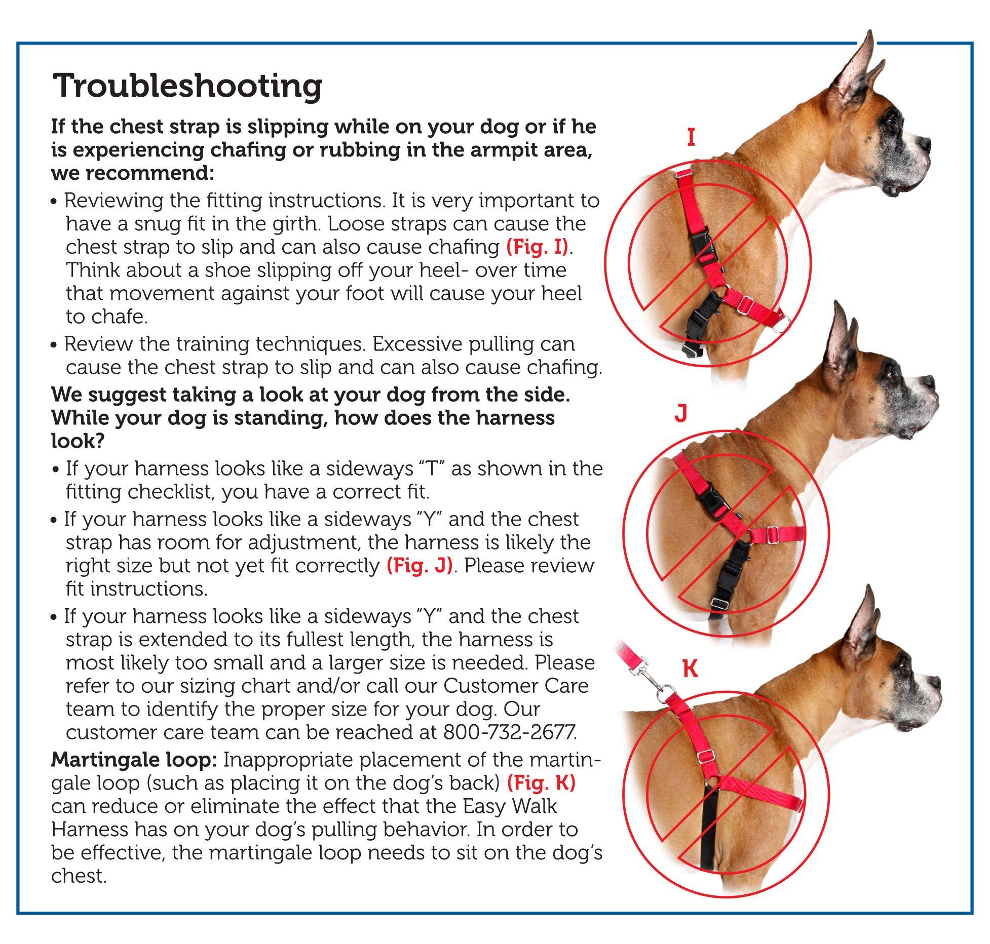 PetSafe Easy Walk Harness, Medium/Large, BLACK/SILVER for Dogs by PetSafe (Image #8)