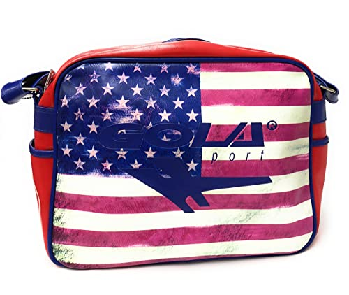 GOLA Borsa Tracolla Redford USA STARS CUB834 Tracolla Bandiera ...