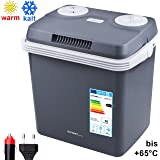 Box frigo 32 litri | per mantenere caldo o rinfrescare | Box frigo termoelettrico 12 Volt e 230 Volt | Mini-frigorifero | Box frigo portatile | Box frigo auto | Box frigo campeggio | Frigobox |
