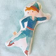 Peter Pan stuffed rattle toy 10  tall