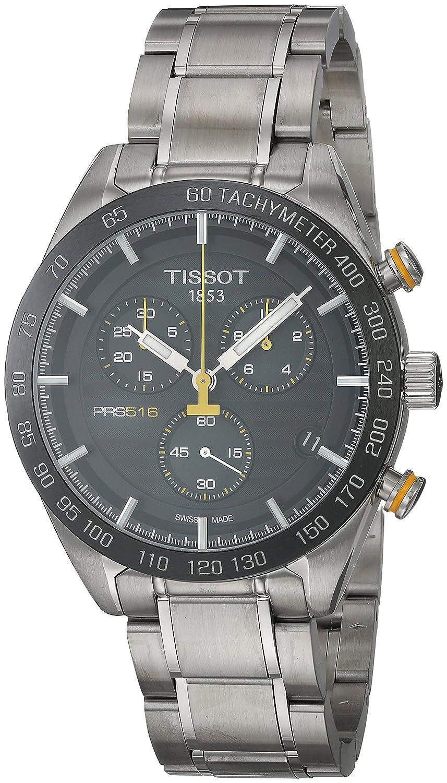 Amazon.com: TISSOT PRS 516 Quartz Chronograph T100.417.11.051.00: Watches