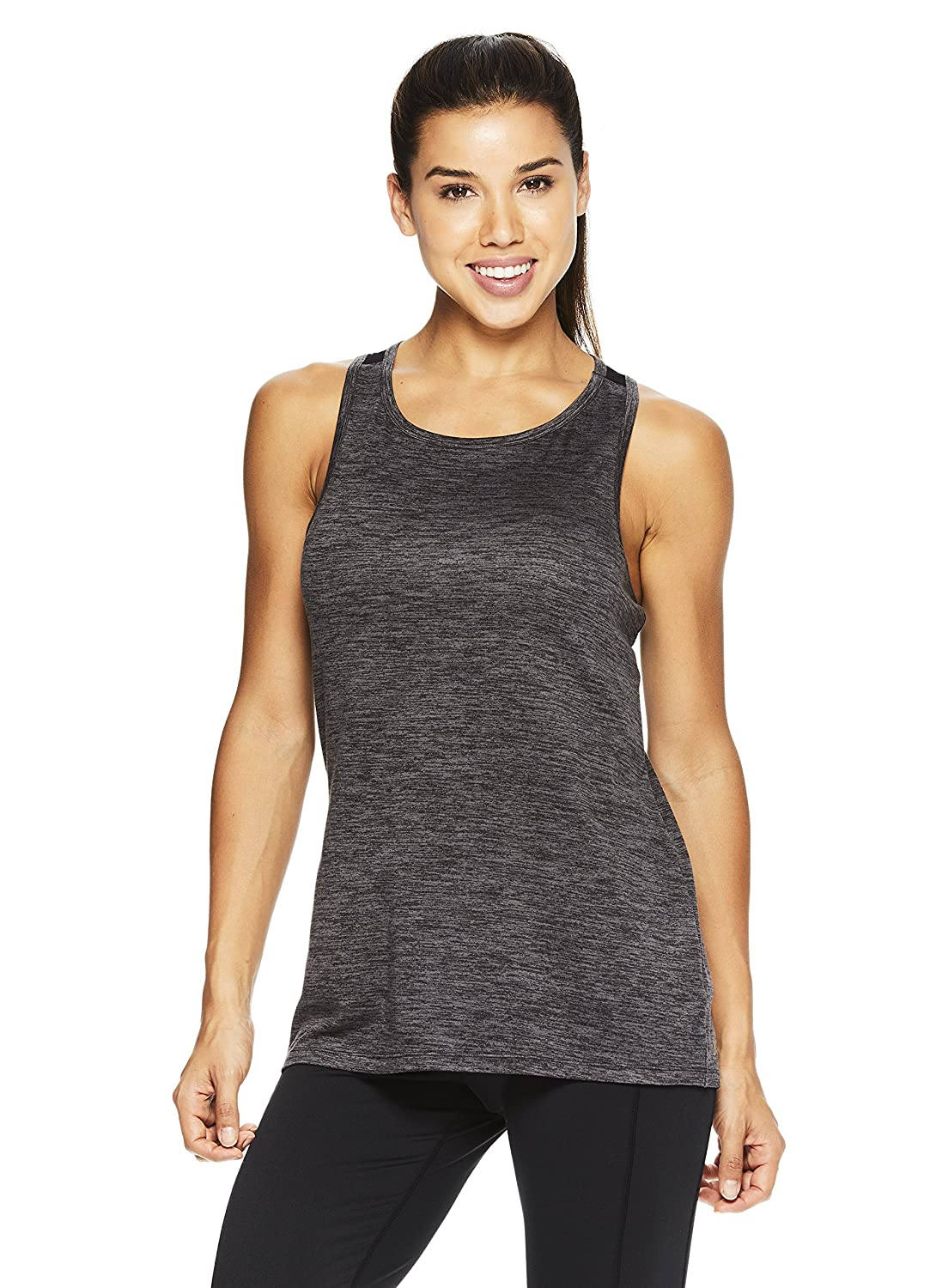 b2b8a1acd56d6e ACTIVE OR NOT: Whether you're working out or hanging out, this trendy  workout tank top will keep you ready for anything. Perfect for any low  impact physical ...