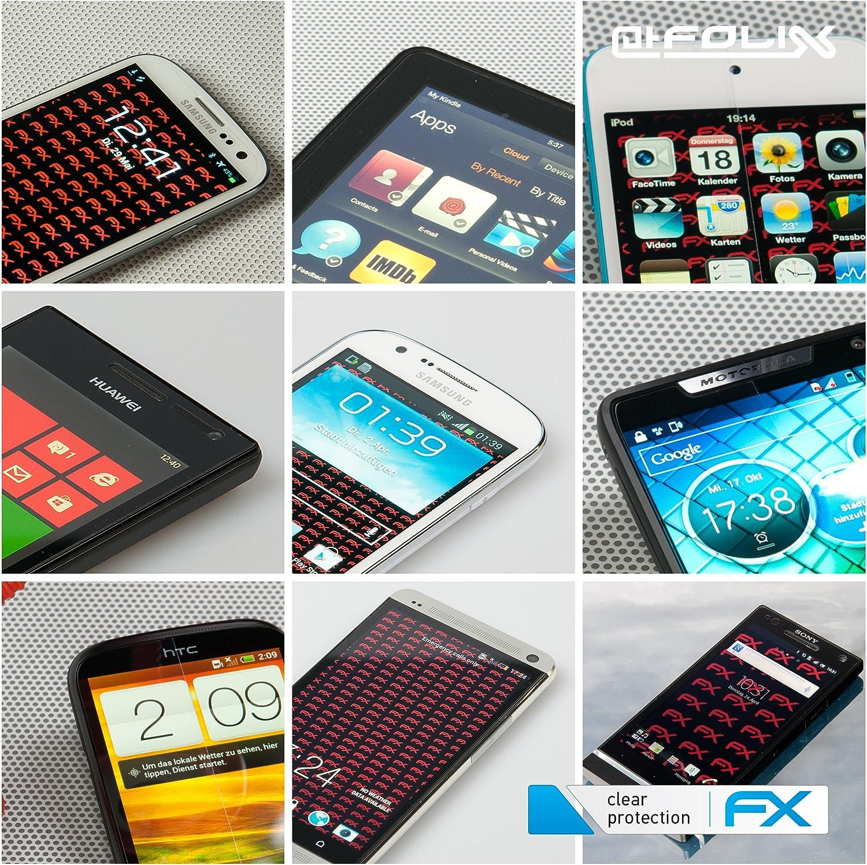 3X atFoliX Schutzfolie kompatibel mit Garmin Montana 600 Folie ultraklare FX Displayschutzfolie