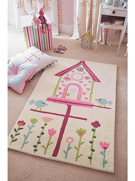 Nice Harlequin Teppiche Kinderzimmer Kinderteppich Home Tweet Home Rosa 90x140  Cm / Prüfsiegel: Schadstofffrei / Flormaterial Home Design Ideas