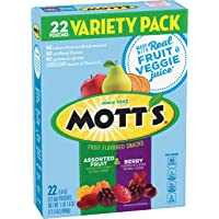 Mott's, Assorted Berry Fruit Snacks, Gluten Free, 17.6 oz