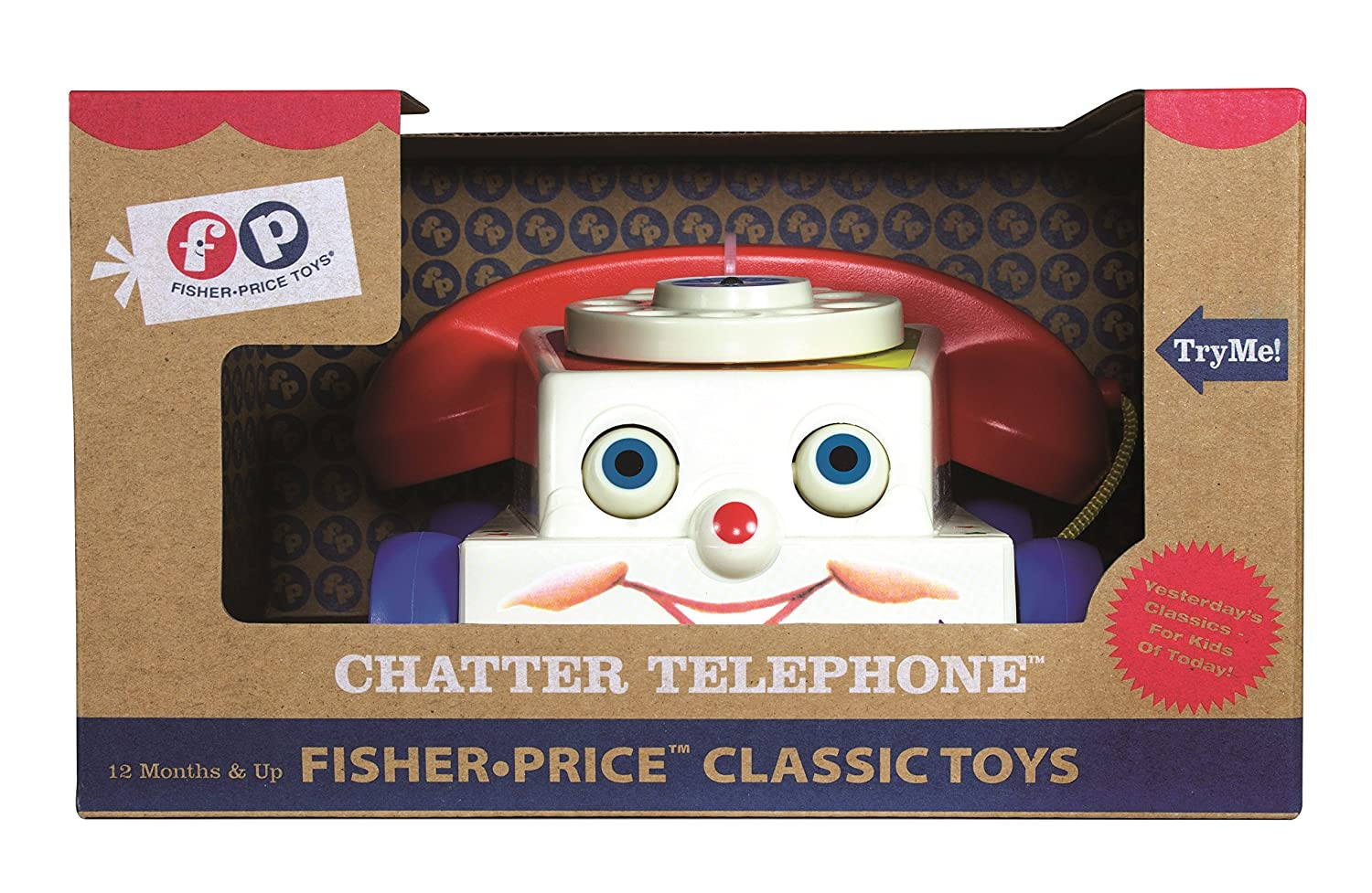 Fisher Price Classics Chatter Telephone: Amazon.co.uk: Toys & Games