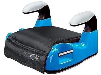 Evenflo Big Kid AMP No Back Booster Car Seat Blue Discontinued By Manufacturer