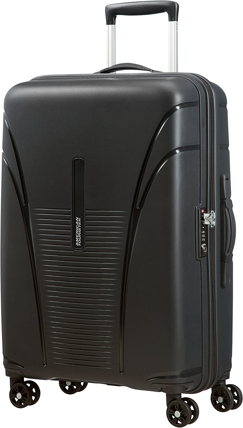 63 Liters 68 cm Formula Red American Tourister Skytracer Spinner Suitcase
