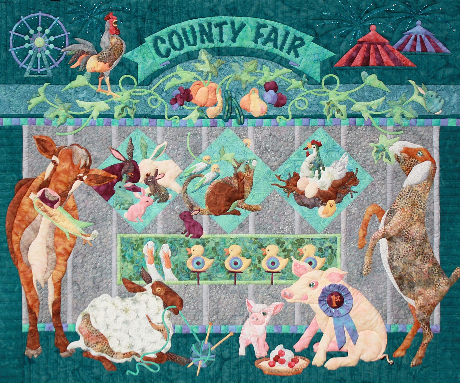 Fairest of Them All Java House Quilts Complete 8 Pattern Set by Java House Quilts