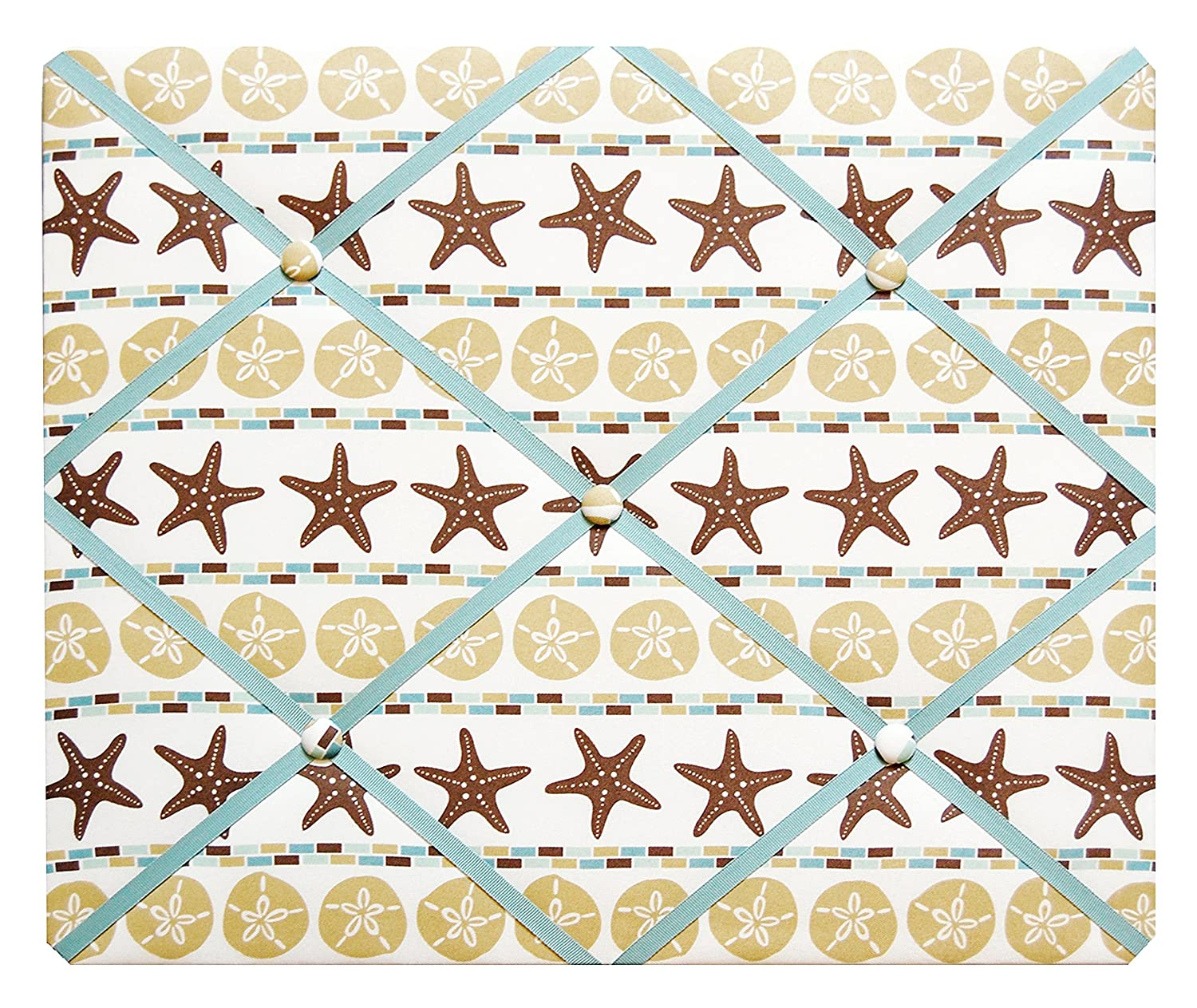Starfish and Sand Dollar Beach Theme French Memo Board 02-00-0029