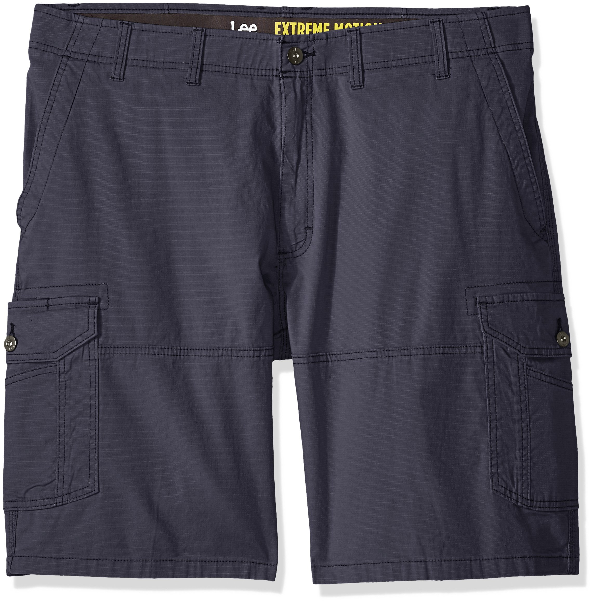 LEE Men's Big and Tall Extreme Motion Swope Cargo Short, Varsity, 46