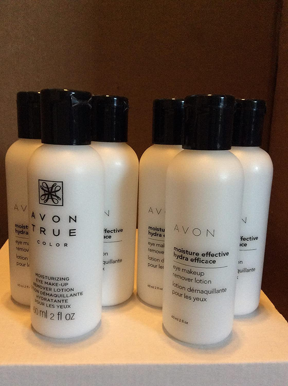Amazon Moisture Effective Eye Makeup Remover Lotion Lot Of 6
