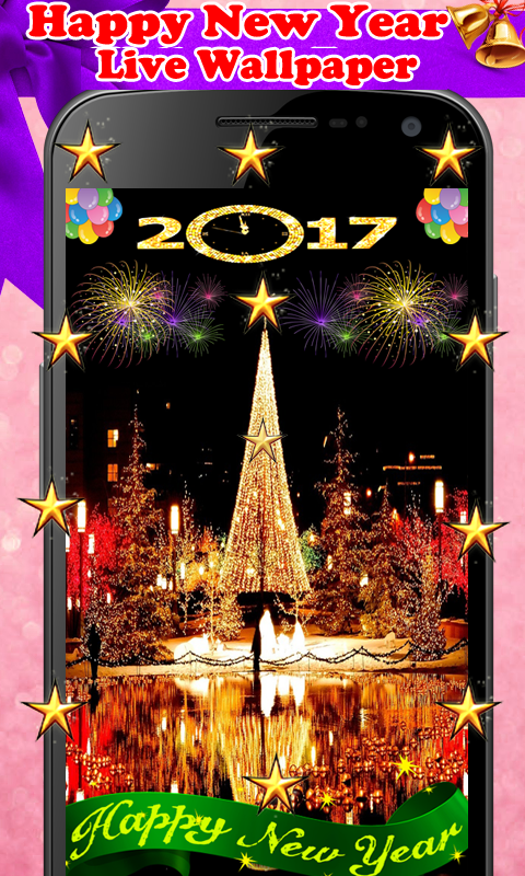 amazoncom happy new year live wallpaper appstore for android