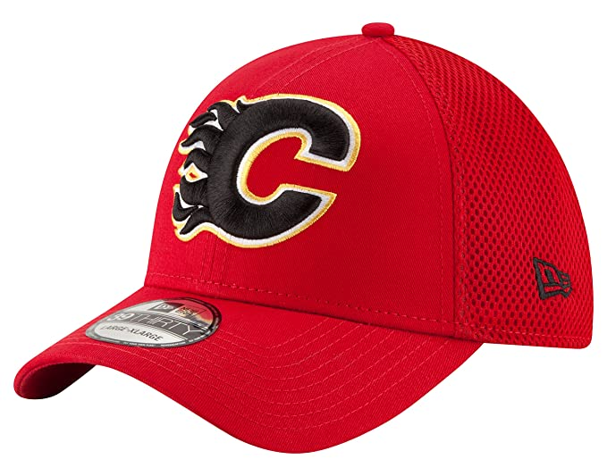 0c756fa7c9fdf1 Amazon.com : New Era NHL Mega Team Neo 39THIRTY Stretch Fit Cap : Clothing