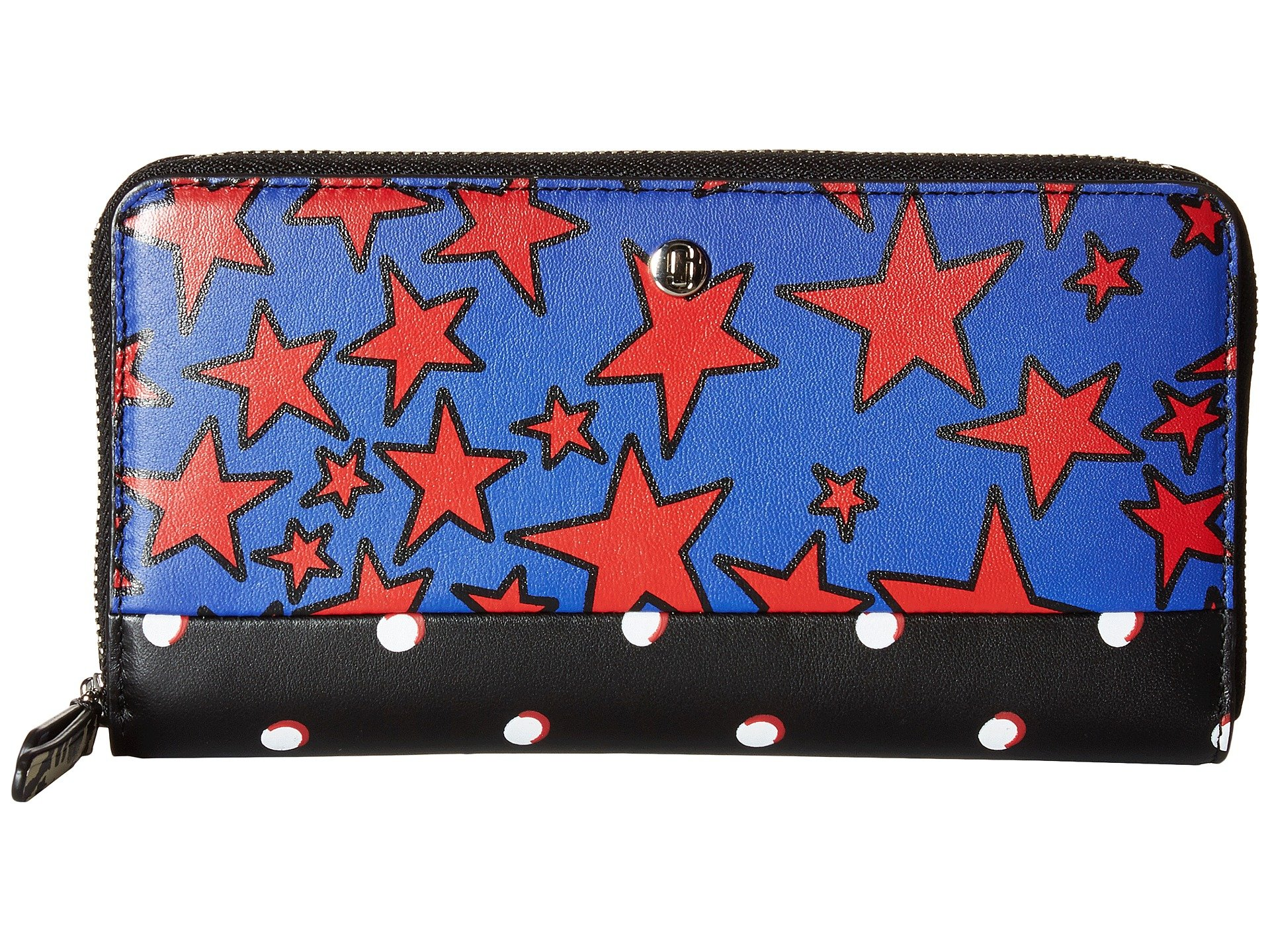 Marc Jacobs Landscape Standard Continental Wallet, Web Blue Multi