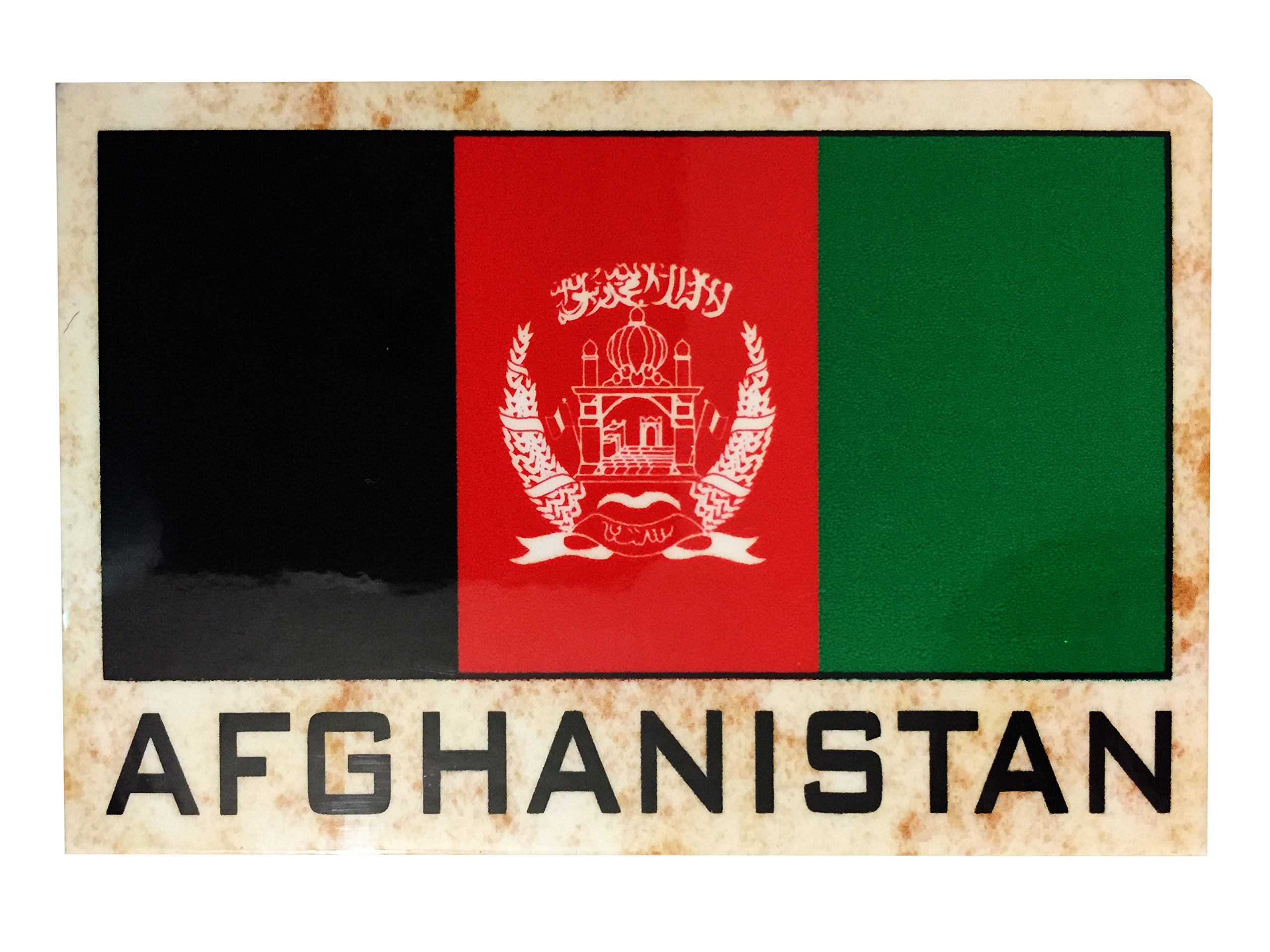 Flag Fridge Refrigerator Magnets - Asia and Africa (Country: Afganistan)