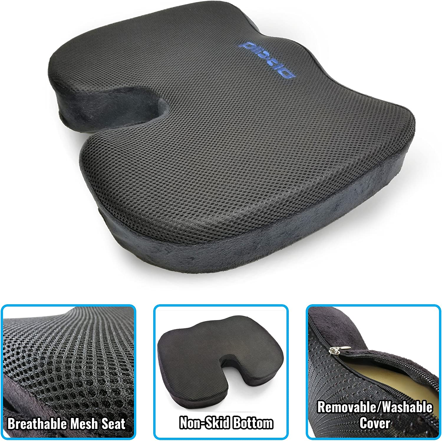 9171Ef0ntNL. AC SL1500 - What Is The Best Car Seat Cushion For Leg Pain? - ChairPicks